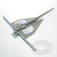 Fortress marine anchors made of aluminum are a great alternative to steel anchors