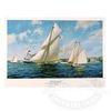 Herreshoff Reliance Print by A.D. Blake