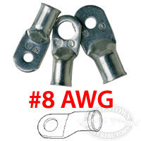 Ancor Marine Grade 8 AWG Battery Cable Lugs