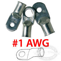 Ancor Marine Grade 1 AWG Battery Cable Lugs