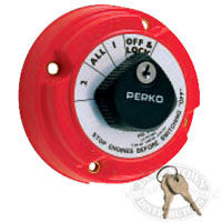 perko battery selector switch with keylock