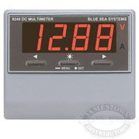 Blue Sea Systems DC Digital Panel Multimeter with Alarm