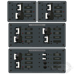 Blue Sea Systems AC Source Selector Panel (50A)