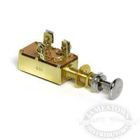3 Position 2 Circuit Push-Pull Switch
