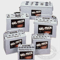Gel-Tech Marine Batteries