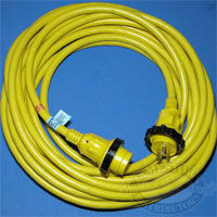 Marinco 30A 125V PowerCord Plus Cordset 50 Foot