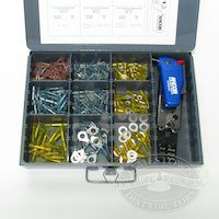 Ancor 257 Piece Heat Shrink Connector Kit W/ Crimper and Mini Torch