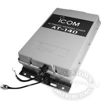 Icom AT-140 HF Automatic Antenna Tuner