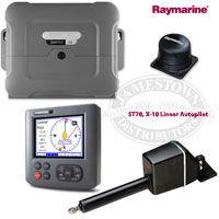 Raymarine ST70 SmartPilot X-10 Sailboat Autopilot