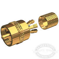 Shakespeare PL-259-CP-G Centerpin Solderless Connector