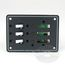 Blue Sea Systems DC - 3 Position Toggle Circuit Breaker Panel