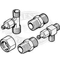 Teleflex 3/8 inch T-Type Fittings