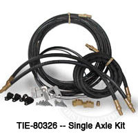 Tie Down Axle Brake Line Kits