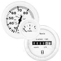 Faria Dress White Series Gauges