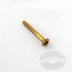 #8 Brass Wood Screws Oval Phillips Head