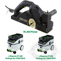 Festool Planers, Festool Dust Extractors, Festool Package Deals