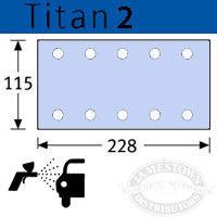 Festool StickFix Titan 2 Sanding Sheets for RS 2 Sanders