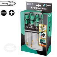 Wera Kraftform Plus Lasertip Screwdriver Set 334/6