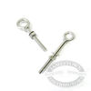 stainless steel shoulder eye bolts, s/s shoulder eyebolts