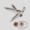 Square Drive Painted Bugle Head Screws - Ipe & Tan