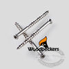 316 SS 6-Lobe Woodpecker Finishing Screws
