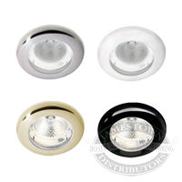 Hella White Ambient Ring LED Spot Lamp