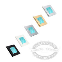 Hella Cyan Slim Line Square LED Courtesy Lamps