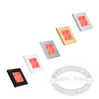 Hella Red Slim Line Square LED Courtesy Lamps