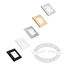 Hella White Slim Line Square LED Courtesy Lamps