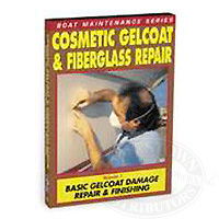 Cosmetic Gelcoat & Fiberglass Repair - DVD
