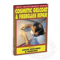 Cosmetic Gelcoat & Fiberglass Repair: Color Matching & Finishing