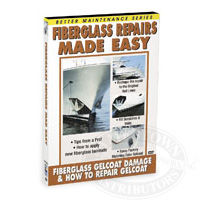 Fiberglass Repairs Made Easy: Gelcoat Repair - DVD