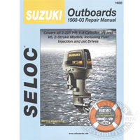 Suzuki Outboard Engine Repair Manual by Seloc Marine