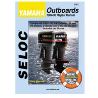 Yamaha Outboard Engine Service and Repair Manuals by Seloc Marine
