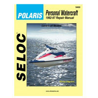 Polaris Personal Watercraft Repair Manual by Seloc Marine