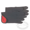 Boss Cotton Red Fleece Lined Jersey Gloves