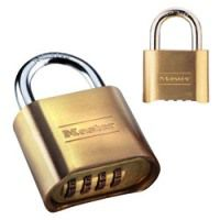 Master Lock 2 inch Brass Combination Padlock