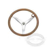 Edson Teak Rim Power Wheel