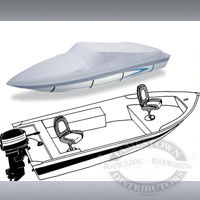 Carver Wide V-Hull Fishing Boat Covers