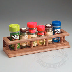 TEAK SPICE RACK