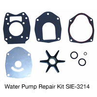 Sierra Alpha I Mercury and Mariner Water Pump Impeller Repair Kit