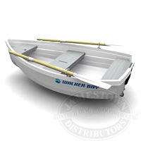 Walker Bay rigid dinghies are small boats available in 8 and 10 foot lengths