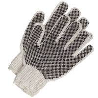 Boss dotted reversible work gloves feature dots for sure grip