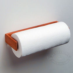 Teak Paper Towel Dispenser