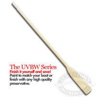 Caviness UVBW Unvarnished Oars