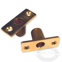 Bronze Top Mount Oarlock Sockets