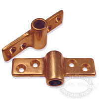 Bronze Side Mount Oarlock Sockets