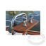 Edson Stainless Steel Drink Holders with Teak Base