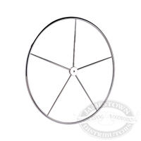 Edson Stainless Dished Destroyer Sailboat Wheels
