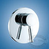 Scandvik Nordic Bulkhead Mount Shower Control Mixer
